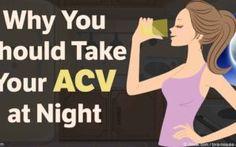 Apple Cider Vinegar Detox Drink Recipe: Drink This Every Night…
