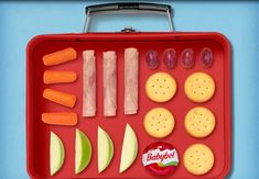 Simple and balanced! Babybel Cheese Recipes, Envy, Lunch Box, Simple, Food, Essen, Bento Box, Meals, Yemek