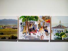 Papeles – Pensar pintando – Belén Casado Alcalde