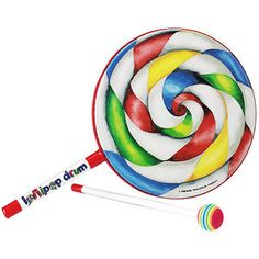 Large Lollipops, Swirl Lollipops, Frame Drum, Hand Drum, Musical Instruments, Drums, Cool Things To Buy, Fun Things, Musicals