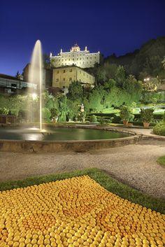 Villa Garzoni - Collodi (Pistoia), Toscana. Famosa per il vicino parco di Pinocchio