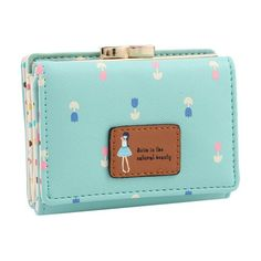 Damara Female Faux Leather Card Holder Mini Wallet Clutch | eNew Style