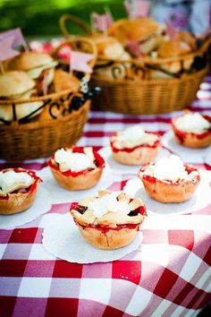 Strawberries - picnic party