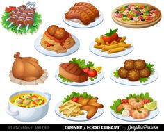 42 vector food images vector graphics blog food art pinterest rh pinterest com food clipart pictures foot clipart images