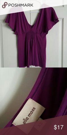 Ella Moss blouse Beautiful color, Pima cotton, very soft Ella Moss Tops Blouses