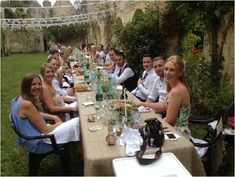 outdoor wedding venue Bordeaux