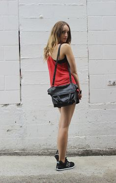 My love affair with NB 574 #newbalance #574 #fashion #girl #street #streetstyle #red #outfit #blogger #alexanderwang #aritzia #fashionblogger #vancouver #outfitpost