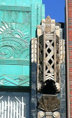Oakland, CA Art Deco detail