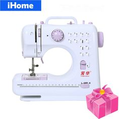 new arrival Household Multifunction Mini Sewing Machine 12 Stitches Replaceable 11pc Presser Foot Power Supply LED Light