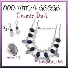 "Lia Sophia ""Cosmic Dust"" Set from New Fall/Winter 2013 Catalog Make a statement with this set! Everything is Buy2,Get 4 @  50% off! https://www.facebook.com/KaylasLiaSophiaJewlery www.liasophia.com/operationsparkle"