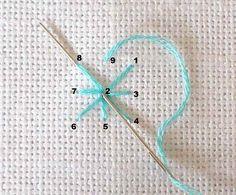 Sarah Whittle - современной вышивки художник: учебник вышивки