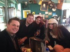 Lunch at Guinness before the concert!