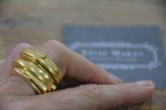 Stacking thin signet rings gold signet rings women stacking