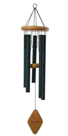 "This 28"" Majesty Bells chime pairs the classic construction of wooden components with superior quality music! Designed to fit into any garden setting from traditional to modern, this chime will complete your artistic statement."