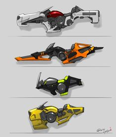 VehicleDesign Hoverbikes 00 by RemoteCrab131