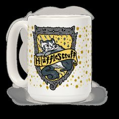 The sorting cat will sort your wizardly, kitten self in the house of its choosing! This time the sorting cat has chosen, Hufflescruff! Show off your nerdy side and your love for the wizarding world and cute fluffy cats with this funny, harry potter house parody cat coffee mug!