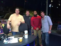 Mike, Stink, Arian Foster & Greeny Arian Foster, Espn, The Fosters