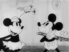 my gif gif music vintage mickey mouse disney gif piano minnie mouse 1930s 1931 flute mickey mouse gif the wayward canary