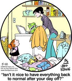 Sheen Family Circus Comic Strip-pic200