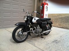 1962 Honda CA72  250cc OHC Twin cylinder with 4 speed transmission