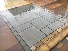 Mint Smooth Sawn & Honed Mixed Size Patio Packs - inc VAT & FREE Nationwide Delivery - Cheshire Sandstone House Extension Plans, Sandstone Paving, Patio Slabs, Paving Stones, House Extensions, Free Delivery, Hardwood Floors, This Is Us, Smooth