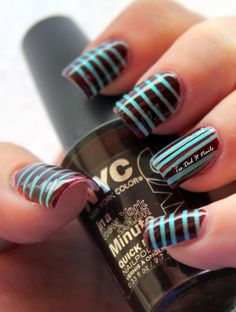 Nails..love the colour combo!! <33333
