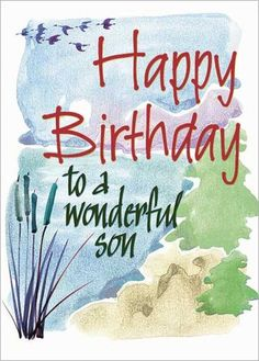 88 Best Birthday Cards For Son Images