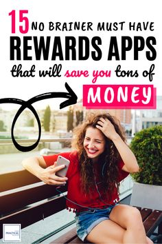 Looking to save some extra cash? Here are absolutely the TOP 15 Rewards Apps that earn you tons of FREE money! You won't believe # These smartphone Free Money Now, Make Money Fast, Ways To Save Money, Money Tips, Money Saving Tips, Make Money Online, Extra Money, Extra Cash, Cash Now