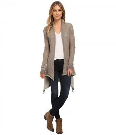 Culture Phit - Stella Cardigan (Taupe) Women's Sweater