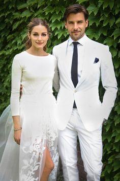 Olivia Palermo Weds Johannes Huebl In Intimate Civil Ceremony, 2014