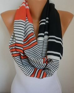 Infinity Scarf Shawl Circle Scarf  Loop Scarf Summer by anils, $19.90