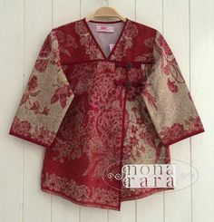 Batik Fashion, Ethnic Fashion, Unique Fashion, Blouse Batik, Batik Dress, Dress Brukat, Blouse Dress, Mode Batik, Batik Kebaya