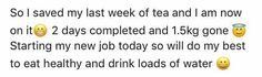 Results from the new improved detox tea ☕  www.healthynewu.vidadivina.com