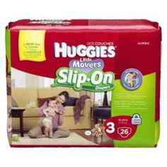 $3.00 off Huggies Little Movers Slip-On