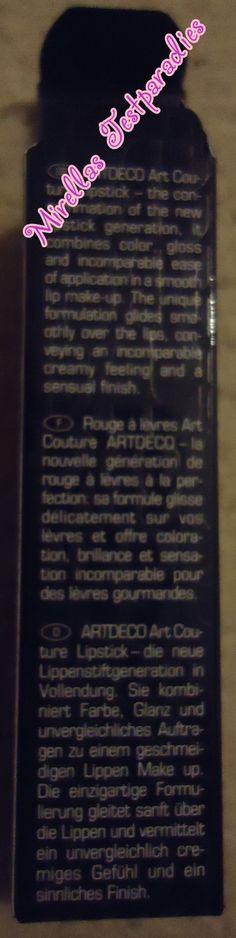 Weitere Infos über den Art Couture Lipstick Classic in der Nuance 205 von Artdeco..