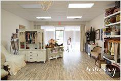 My Studio Setup - Leslie Amy Photography Garage Studio, Studio Room, Dream Studio, Studio Setup, Studio Ideas, Photography Business, Photography Studios, Conway Arkansas, Newborn Photographer