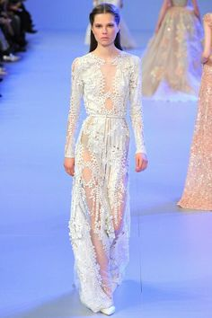 Elie Saab Haute Couture Spring 2014 wedding dress inspiration