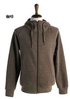 Men New Style Autumn Hood Sports Casual Long Sleeve Coffee Cotton Hoodie M/L/XL/XXL@X01c