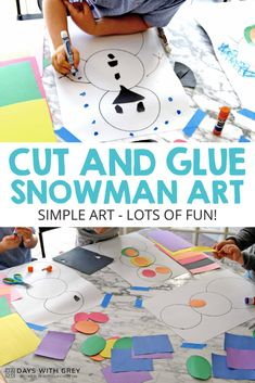 Winter Activities For Toddlers, Toddler Activities, January Preschool Themes, Kids Art Space, Paper Child, Motor Activities, Toddler Preschool, Fine Motor, Winter Wonderland