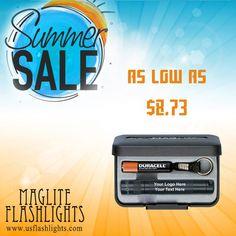 Summer Sale 2017!! Don't miss it!  24 Custom Maglite Flashlights at $304.31 only!  #MagliteFlashlights #SummerSale #PromotionalProducts
