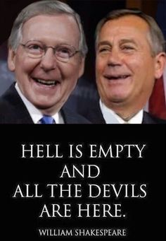 Republicans, Soulless Corporate Puppets. Including Those Who Support Them... TRUTH BE TOLD !!