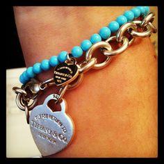Tiffany light blue bracelet