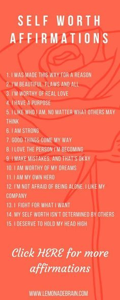 Affirmations for the New Year Lets face it, life is crazy. Informations About Affirmations for the New Year - Lemonade Brain Pin You can easily use Positive Thoughts, Positive Vibes, Positive Quotes, Morning Affirmations, Love Affirmations, Mantra, Self Development, Self Esteem, Self Improvement