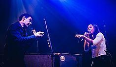 """""""Un+sueño+cumplido""""+dijo+Soledad+Pastorutti+luego+de+tocar+como+invitada+de+Divididos"""