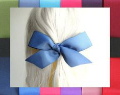 Etsy :: Your place to buy and sell all things handmade Hair Ribbons, How To Make Ribbon, Big Bows, Bad Hair Day, Grosgrain Ribbon, Girl Hairstyles, All Things, Women Jewelry, Hair Accessories