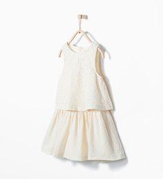 ZARA - KIDS - Broderie anglaise dress