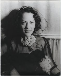 Fredi Washington was a pioneering Black actress and civil rights activist, here photo'd by Carl Van Vechten.