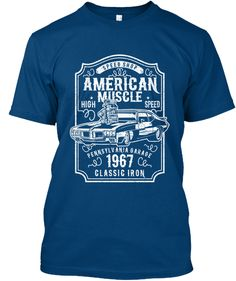 Discover Muscle Car T-Shirt from EYECATCHER, a custom product made just for you by Teespring. Muscle Cars, Just For You, Mens Tops, T Shirt, Blue, Shopping, Fashion, Supreme T Shirt, Moda