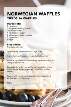 Paula Deen is back for this week's Sizzle! AND she's bringing her boys. If you're looking to tune in, or just need a new recipe for this summer, try your hand at this Norwegian Waffles recipe from Allison Waggoner, plus, click through and tune in on Sunday morning!