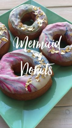 Mermaid Donuts Tutorial